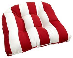 Patio Furniture Pier 1 by Cabana Stripe Cushion Tomato Traditional Seat