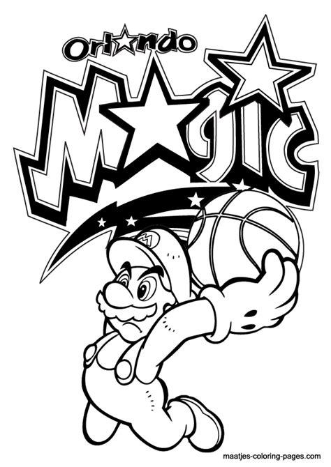 mario basketball coloring page mario basketball coloring pages get coloring pages