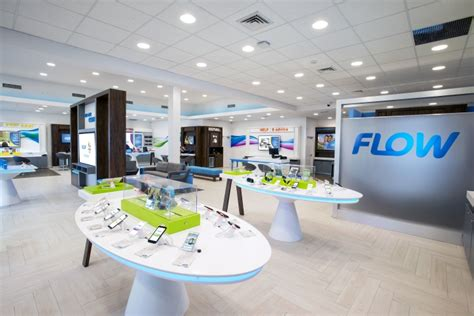 The Flow Store | flow telecom flagship store by shikatani lacroix design
