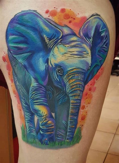 war elephant tattoo war elephant the best elephant of 2018