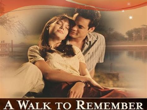 A To Remember a walk to remember