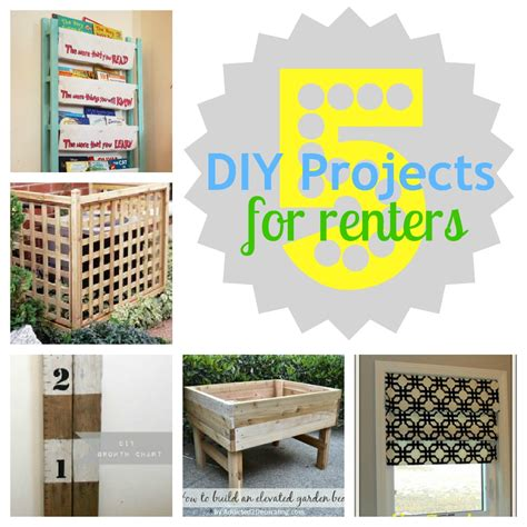 dyi projects gifts we use 5 diy projects for renters