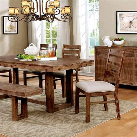 natural wood dining room sets natural wood dining table set fa358 modern dining