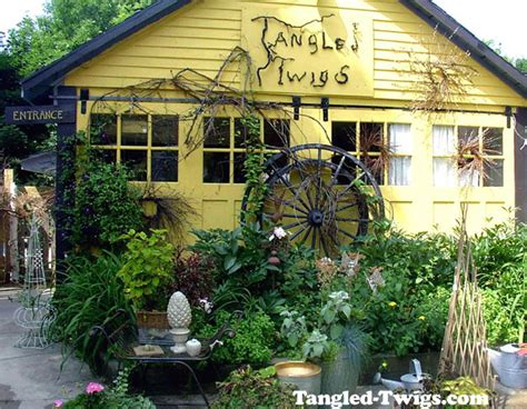 garden home decor tangled twigs home and garden decor store