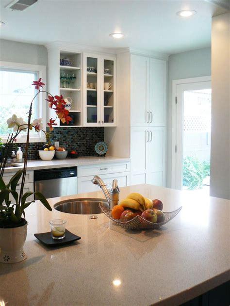 long kitchen transitional kitchen deborah wecselman contemporary kitchens from yvonne landivar on hgtv