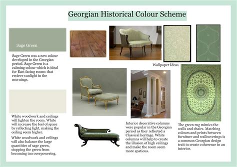 Colours For Home Interiors Georgian Historical Colour Scheme Page001 North Leads To