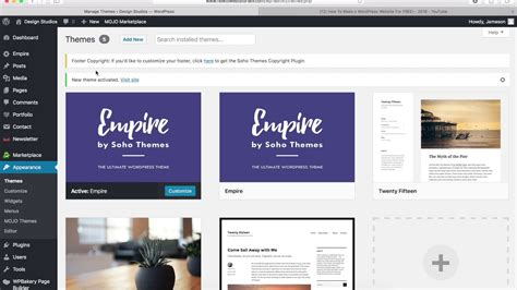 enfold theme how to update how to update wordpress theme third party themes youtube
