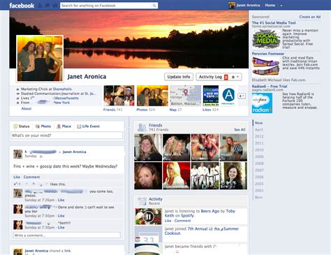 facebook ho 10 screenshots of the old facebook designs