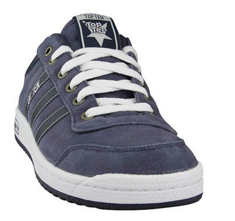 new adidas originals top ten lo navy canvas retro trainers shoe uk 6 5 7 5 ebay