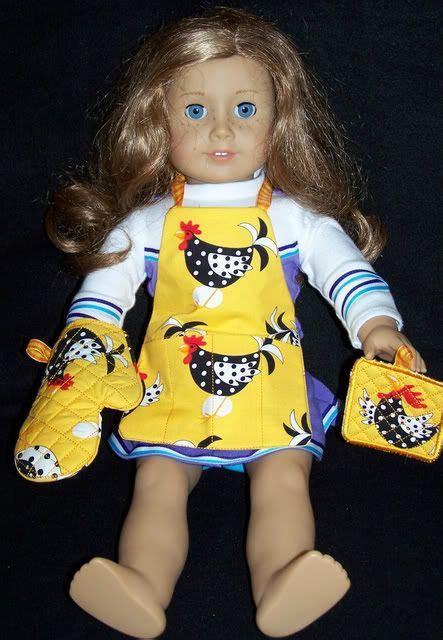 18 doll kitchen set sewing fabrics dolls