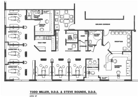 dental floor plans office floor plans medical office floor plan design