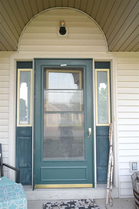 Painting Shutters And Front Door Adding Curb Appeal How To Paint Shutters And Front Door Our House Now A Home
