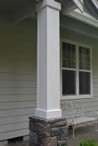 front porch columns a gathering place
