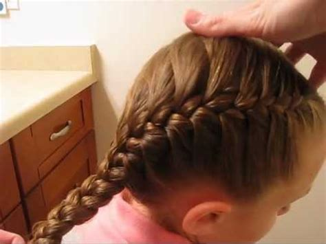how to big french side braid youtube how to french braid youtube