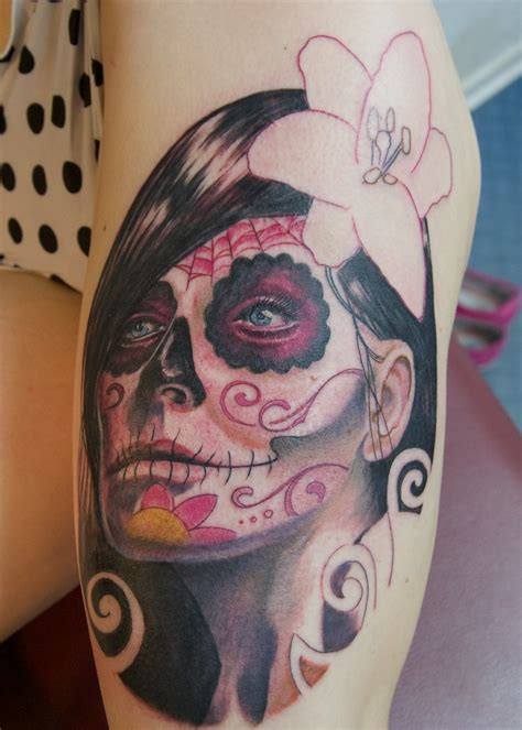 tattoos de catrinas catrina in progress by graynd on deviantart