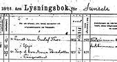 Swedish Marriage Records Ellis Island Genealogy Church Records In Sweden