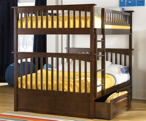full full bunk bed columbia full over full bunk bed antique walnut bedroom bedroom furniture reviews