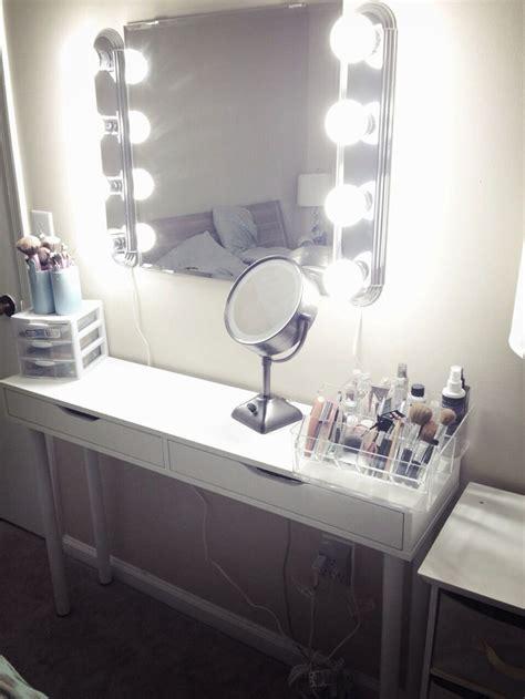 makeup vanity mirror with lights ikea diy vanity lights ikea www imgkid com the image kid