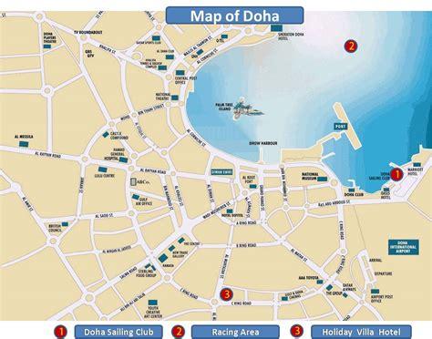 where is doha on world map doha qatar the most qatar attraction