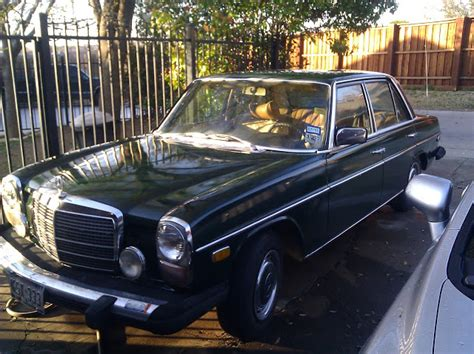 Mercedes Parts Dallas 1976 Mercedes 300d Needs Gasket And In