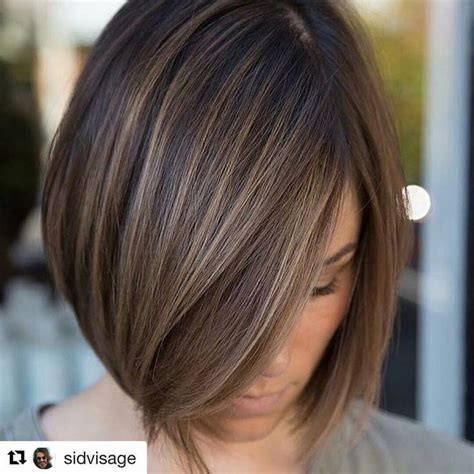 short haircuts brunettes with gray highlights best 25 highlights short hair ideas on pinterest