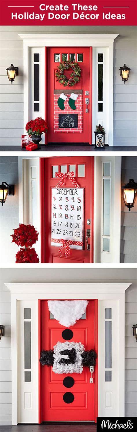 papa noel chimenea decoracion de navidad para puertas chimenea papa noel