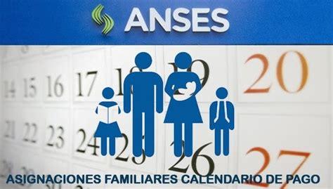 asignaciones familiares calendario de pago marzo 2015 anses fecha de cobro con aumento asignaciones familiares