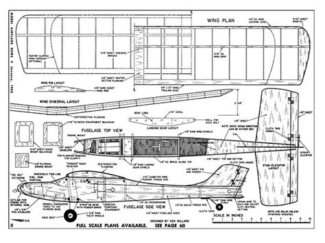 free rc plans schoolboy plans download model airplane news by ken
