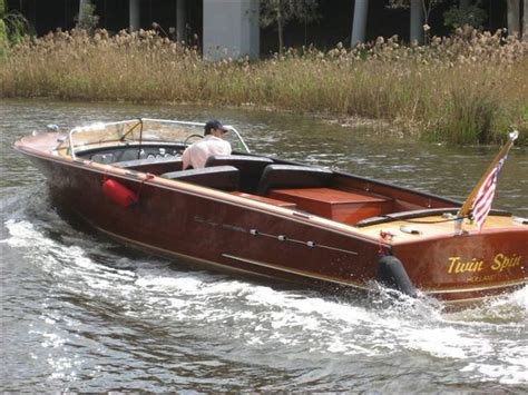 old used boat loans 1956 chris craft 26 continental power boat for sale www
