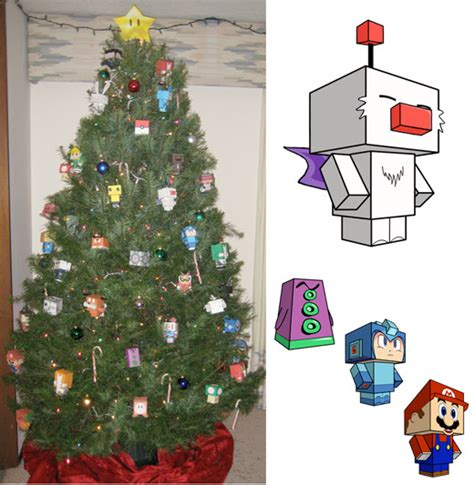 Papercraft Tree - papercraft tree is a colorful hazard