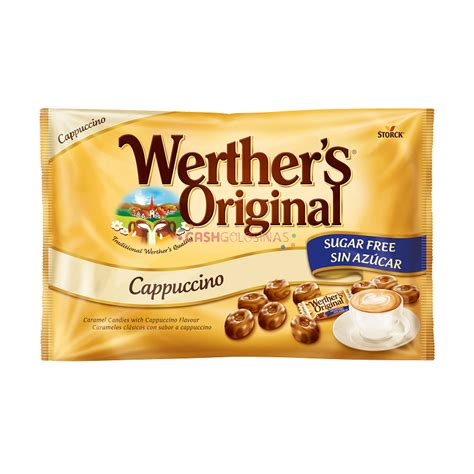 cappuccino without sugar werthers original storck