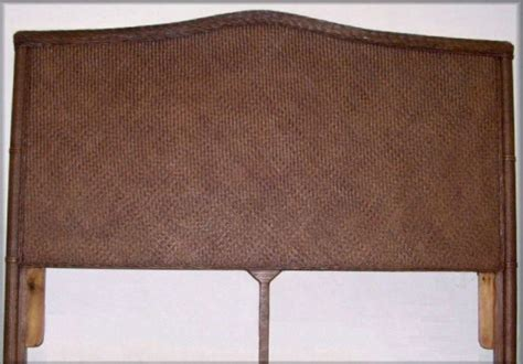 rattan headboard queen bombay rattan wicker full queen headboard all about wicker