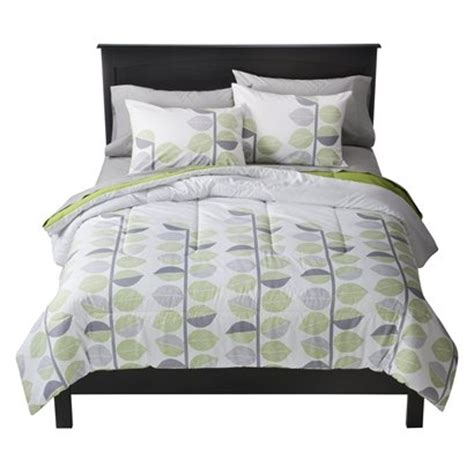 green and gray comforter green grey leaves bedding via target apartment