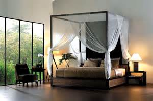 Canopy Bed With Curtains Enhance Your Fours Poster Bed With Canopy Bed Curtains Midcityeast
