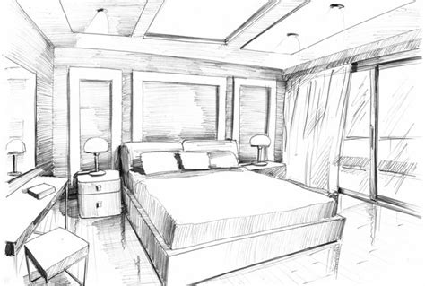 sketch of a bedroom interior bedroom sketch picture rbservis com