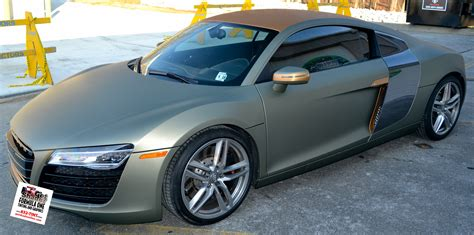 audi r8 wrapped gotshadeonline custom vehicle wraps window tinting