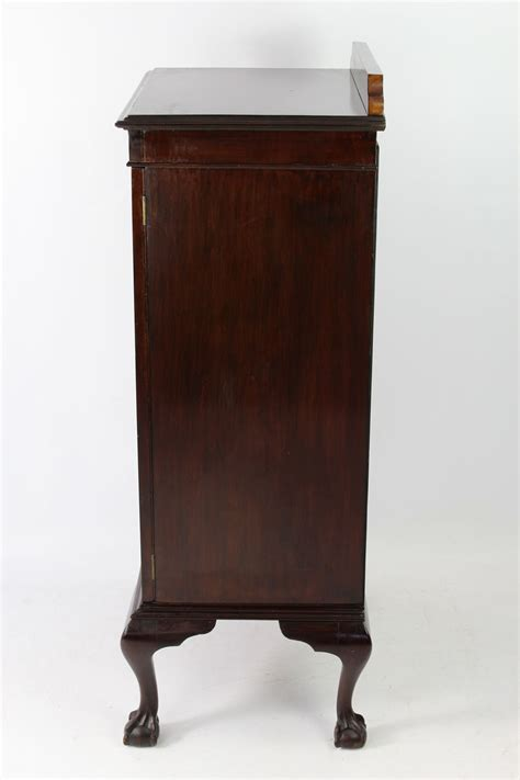 Mahogany Cupboard - antique edwardian mahogany cabinet cupboard