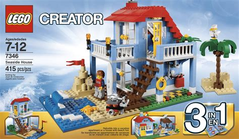 3 In 1 Toys Set lego creator seaside house 7346 review tips included