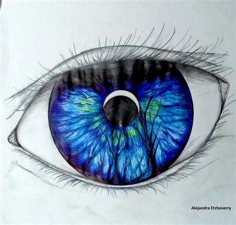 imagenes surrealistas ojos t 237 tulo pupila nocturna dibujo con lapiz y boligrafo
