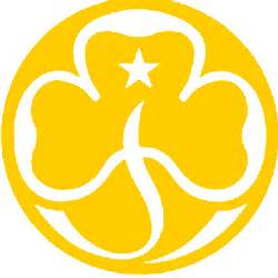 Guide Trefoil Outline by The 1st Bossingham Brownies Page