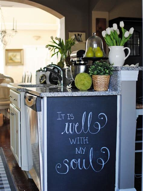 Chalkboard Paint Kitchen Ideas | how to paint a kitchen chalkboard wall how tos diy