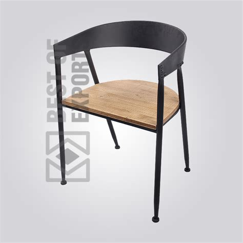 industrial relax chair  wooden seat   exports