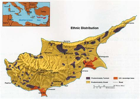 middle east map nicosia nationmaster maps of cyprus 11 in total