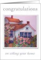 congratulations on selling your house from greeting card universe