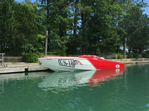 cigarette 35 top gun limited edition 2000 used boat for - Cigarette Boat For Sale Ontario