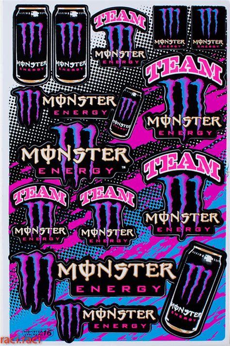 Monster Energy Aufkleber Pink by 13 Besten Monster Energy Racing Decals Bilder Auf