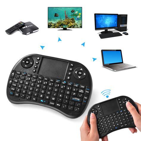 Keyboard Mouse Komputer multifunction mini wireless qwerty keyboard mouse touchpad for pc laptop ac624