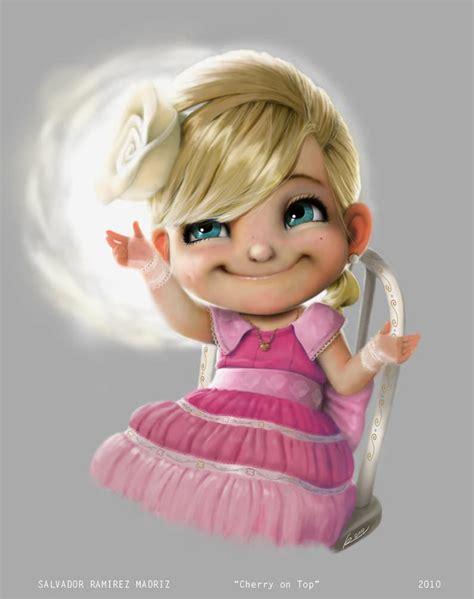 cute girl designs cute photoshop character designs by salvador ramirez madriz 171 illustration 171 mayhem muse