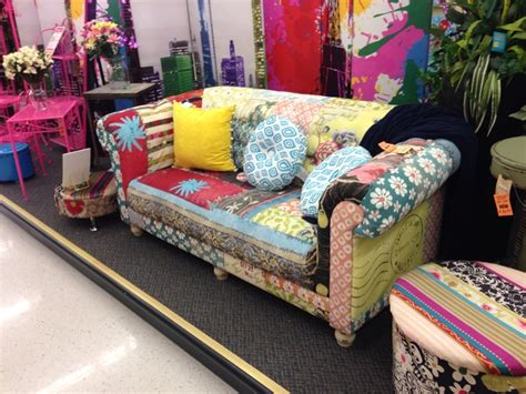 hobby lobby sofa multicolored couch from hobby lobby craft room delights