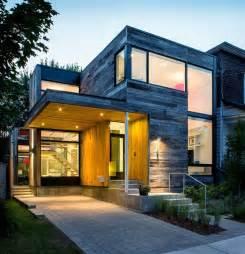 Diseno Casa dise 241 o de casa en esquina con fachada de madera youtube